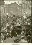 """""""Peace with Honour"""": Reception of Lord Beaconsfield and Lord Salisbury at Charing Cross"""
