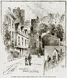 """Windsor Castle, from Thames Street, and """"Bit"""" of the Outer Walls"""