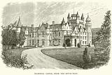 Balmoral Castle, from the South-West