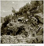 Bengal Sappers and Miners Road making in the Chitral