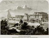 Palace of Sennacherib (Discovered in a mound 1850 feet long, 1145 feet wide and 178 feet high)