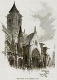 The Church of St Etienne: Caen