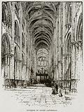Interior of Rouen Cathedral