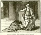 Interview between the Empress Matilda and Queen Maud