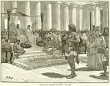 Caractacus before Claudius