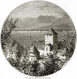 The Castle of Chillon, and Lake of Geneva