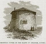 Martello Tower on the Plains of Abraham, Qufbec