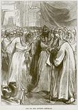 The Old Men advising Rehoboam