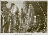 Balaam receiving Balak's Messengers