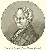 Portrait of Mr Thomas Hancock