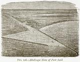 Bird's-Eye View of Port Said