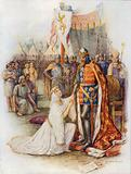 Queen Philippa pleading for the citizens of Calais