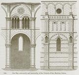 One Bay, Externally and Internally, of the Church of San Martino, Lucca