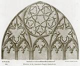 Window in St. Anselm's Chapel, Canterbury