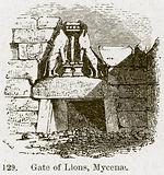 Gate of Lions, Mycenae