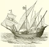 Caravel in the Days of Columbus