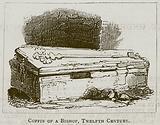 Coffin of a Bishop, Twelfth Century