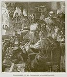 Charlemagne and his Counsellors at Aix-la-Chapelle