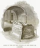 Tomb of the Cid and Ximena at San Pedro de Cardena