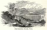 Pont Cyssyltau, Denbigh, Wales