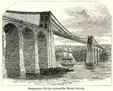 Suspension Bridge across the Menai Straits
