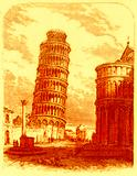 The Leaning Tower, and Apsis of the Cathedral, Pisa