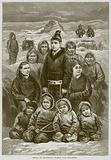 Group of Esquimaux Women and Children