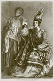 Creole Lady of Senegal, and her Servant