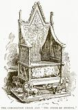 """The Coronation Chair and """"The Stone of Destiny"""""""