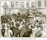The Judges entering an Assize Town