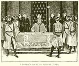 A Bishop's Court in Norman Times