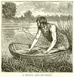 A Briton and his Boat