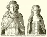 Richard II and his First Queen, Anne of Bohemia