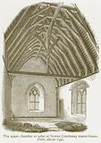 The Upper Chamber or Solar at Sutton Courtenay Manor-House. Date, about 1350