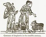Costume of Shepherds in the Twelfth Century