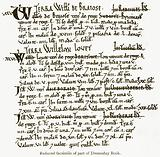 Reduced Facsimile of Part of Domesday Book