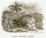 Coast Scenery, Tahiti