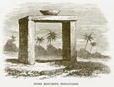 Stone Monument, Tongataboo