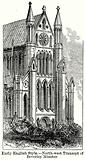 Early English Style. – North-West Transept of Beverley Minster.
