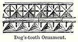 Dog's-Tooth Ornament