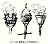Various Forms of Cressets