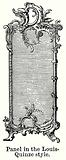 Panel in the Louis-Quinze Style