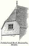 Jerkin-Head Roof, Boscombe, Hants