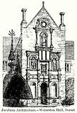 Jacobean Architecture. – Waterston Hall, Dorset