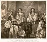 The crown offered to William and Mary