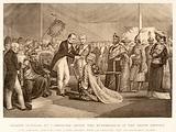 Grand Durbar at Cawnpore after the suppression of the Sepoy revolt