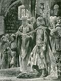 The investiture of William II with the ring, Sunday, Sept 26, 1087