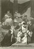 Trial of the marriage of Henry VIII