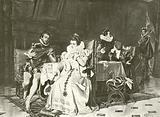 Mary Stuart and Rizzio
