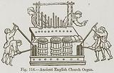 Ancient English Church Organ